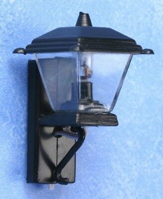 Dollhouse Lighting Carriage Coach Lamp 1:12 Scale Miniatures 12 Volt Doll House