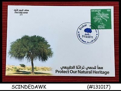 United Arab Emirates Uae - 2011 Protect Our Natural Heritage Ghaf Tree - Fdc