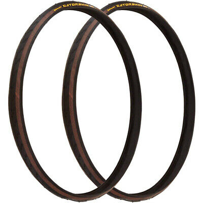 Continental Gatorskin Pneu 27x1 1/4 Pair Engrenage Fixes Mtn Route