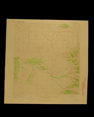 Lee Nevada vintage 1966 original USGS Topographical chart