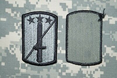 Patch 170th infantry brigade ocp with hook fastener ranger joes.