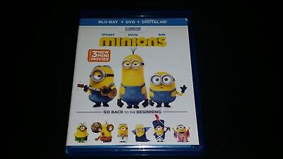 Universal Pictures Minions Dvd Blu Ray Movie Video Family Entertainment Film