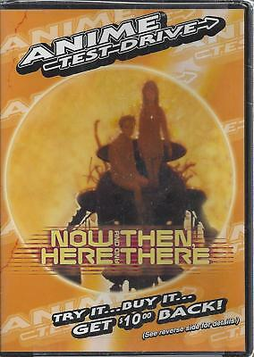 Now & Then Here & There DVD New Sealed  Anime Test Drive