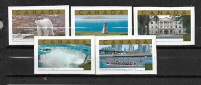 pk39110:Stamps-Canada #1990a-1990e Tourist Attractions $1.25 Issues - MNH