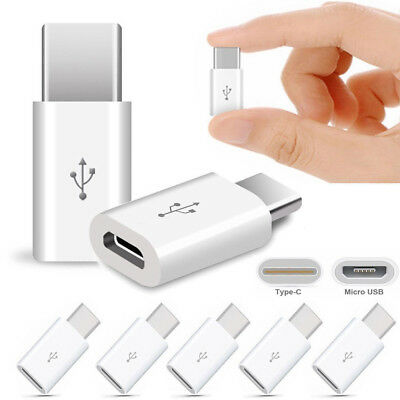 5/10Pcs Mini USB 3.1 Type-C Male to Micro USB Female Converter Adapter Connector