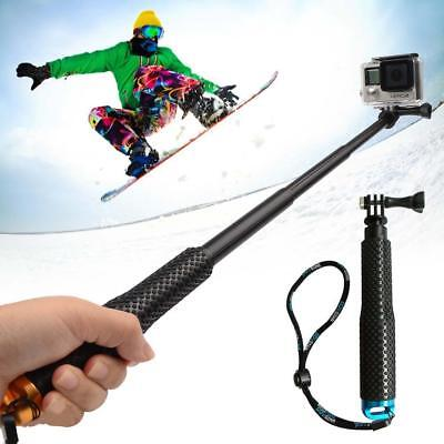 For GoPro Hero 6 5 4 3+ 3 2 Waterproof Sports Monopod Selfie Stick Pole Handheld