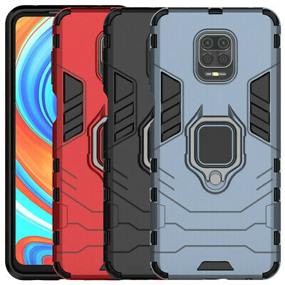 For Xiaomi Redmi 7A 7 6 Note 4 5 6 7 8 Pro Magnetic Ring Holder Armor Case Cover
