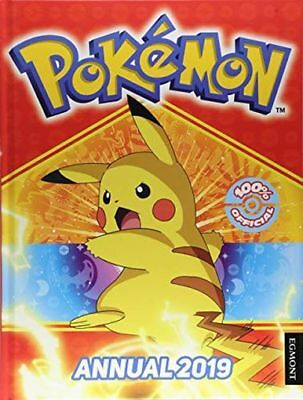 **NEW** - The Official Pokemon Annual 2019 (Annuals 2019) 9781405291170