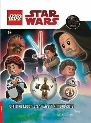**NEW** - Official Lego Star Wars Annual 2019 (with figurine) 9781789050509