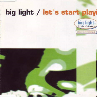 let`s start playing ( radio version / club house mix / extend (UK IMPORT) CD NEW