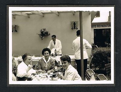 VADUZ, Foto vintage Photo, Liechtenstein, Straßencafe, cafe, /78
