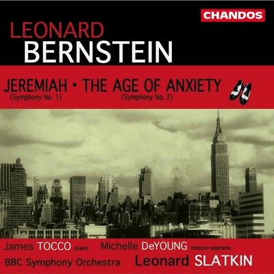 BERNSTEIN L. - Jeremiah/The Age Of Anxiety CD Chandos (note 1 Musikvertrieb NEU