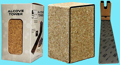 ULTRA PRO ALCOVE PREMIUM CORK TOWER FLIP DECK BOX Card Storage Case mtg pokemon