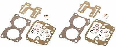Johnson Evinrude Twin Carburetor Carb Rebuild Kit V4 85 90 100 115 125 140 HP