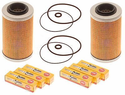 Sea Doo 4-Tec Maintenance Kit Oil Filter W/ O-Ring & NGK Spark Plugs 2 Pack