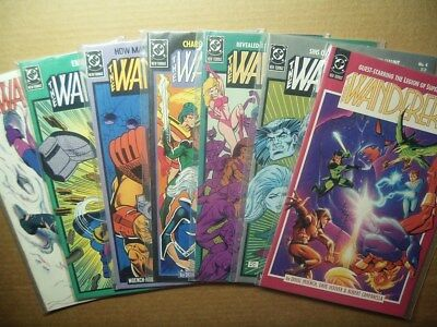 Lot of 7 WANDERERS # 3,4,5,6,7,8,9 DC Comics 1988-89