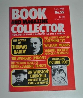 Book Collector # 55 Oct 1988 - Thomas Hardy, Tey, Beckett, The Avengers, Tangye