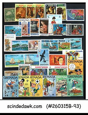 Grenada - Mini Lot Of Stamps Mostly Topical - 44V - Mint