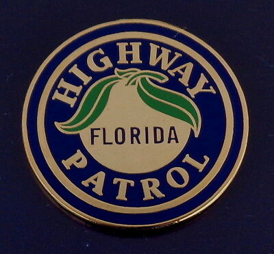 Florida FL Highway Patrol PATCH LAPEL PIN state police FLHP