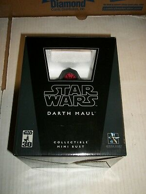 Gentle Giant Star Wars DARTH MAUL Mini Bust #5281/10000