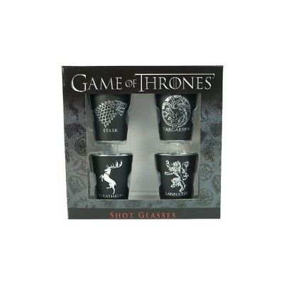 Game of Thrones House Sigil Shot Glass Set (Set of 4)Top Quality
