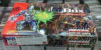 Marvel Universe IV 1993 Factory Sealed Trading Card Box Skybox - Series 4