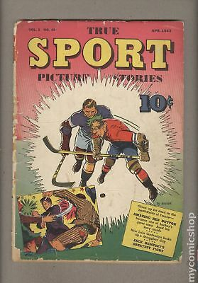 True Sport Picture Stories Vol. 1 #12 1943 GD- 1.8