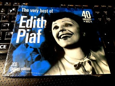 Very Best Of Edith Piaf (2x CD 2005 Disconforme) NEW 40 Greatest Hits