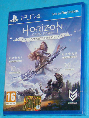 Horizon Zero Dawn Complete Edition - Sony Playstation 4 PS4 - PAL New Nuovo