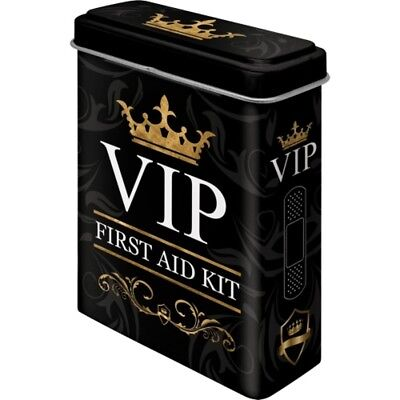 VIP Pflasterdose Very important Person 20 Pflaster,10 cm,First Aid Kit