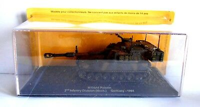 Die Cast Tank M109A6 Paladin  2 Infantry Division Germany 1994 Scala 1/72 -