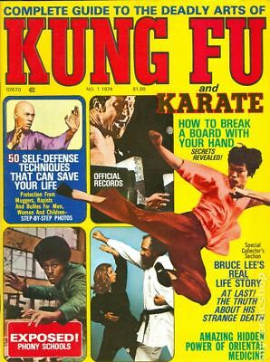 Complete Guide to the Deadly Arts of Kung Fu and Karate #Vol. 1 #1 1974 VG
