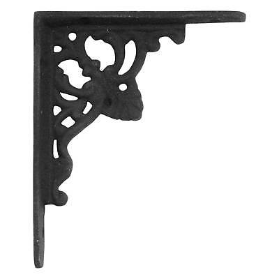 Signature Hardware Fleur de Lis Cast Iron Shelf Bracket