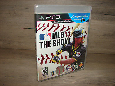 MLB 13: The Show Sony PlayStation 3 - PS3  *NEW Factory Sealed! *Free Shipping!