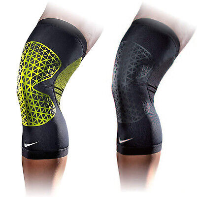 Nike Pro Combat Hyperstrong Knee Sleeve Injury Rehab Support Fitness Gym Joint
