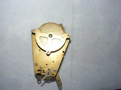 Vintage Clock Movement Brass Part Spares Tapered Form Unmarked