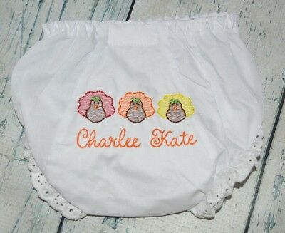 Personalized Baby Bloomers Diaper Cover  12-24 month initial in circle Lavender