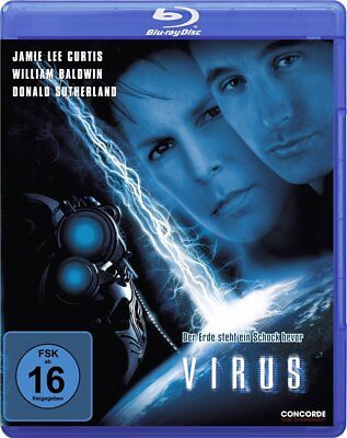 Virus (1999) Jamie Lee Curtis Blu-Ray Import NEW (German Package/English Audio)