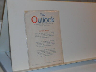 Vtg. 1923 June 13 The Outlook An Illustrated Weekly Journal of Current Life Mag