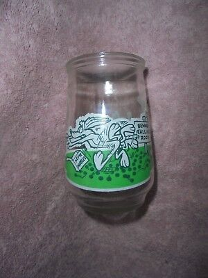 Road Runner W. E.Coyote Acme Warner Bro #3 Looney Tunes Welch's Jelly Glass 1995