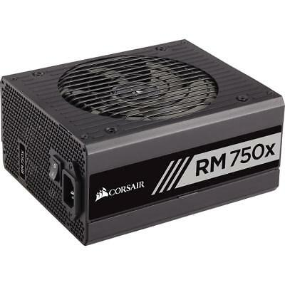 Corsair RM750x (2018) 750W 80 Plus Gold Fully Modular ATX Power Supply Unit PSU