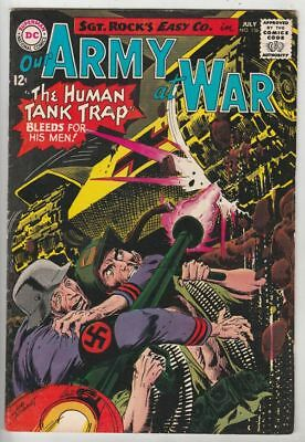 Our Army at War # 156 Strict VF/NM War, Appearance Sgt. Rock and Easy Co.