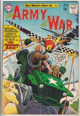 Our Army at War 140 Strict VG+ Full-length Sgt.Rock & Easy Company Kubert story