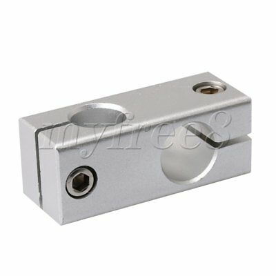 Aluminum Alloy 16mm/18mm Hole Dia Crossing Linear Shaft Support Connector Tool