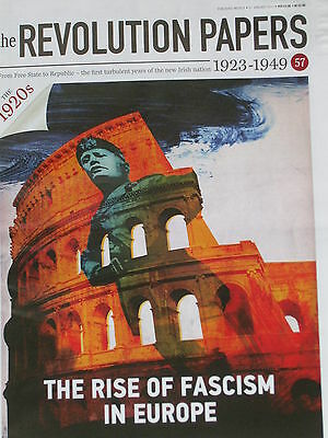 REVOLUTION PAPERS-part 57-Irish newspapers(1923-49)RISE OF FASCISM IN EUROPE-NEW