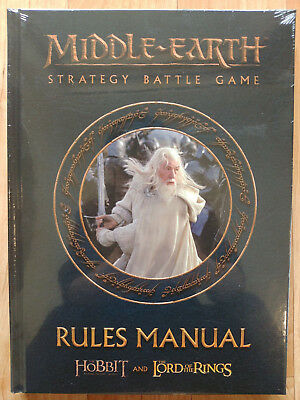LOTR Middle Earth Strategy Battle Game Rules Manual Hobbit+Lord of the Rings