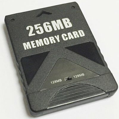 Ponnky 256MB Memory Card Game Memory Card for Sony Play Station 2 PS2 FAST SHIP