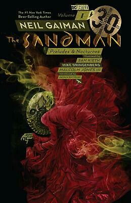 Sandman Volume 1 by Neil Gaiman Paperback Book Free Shipping!