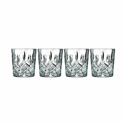 Marquis by Waterford 165118 Markham Double Old Fashioned Glasses Set of 4 NEW