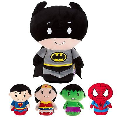 Hallmark Itty Bittys Biggys Superhero Plush Soft Toy Character Figure 28cm